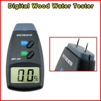 Wholesale MD G Pins Digital LCD Wood Bamboo Firewood Water Moisture Meter Tester Timber Damp Detector