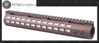 Wholesale Vector Optics GEN Free Float Keymod inch Handguard Rail Mount Bracket with Detachable Picatinny Rail Burnt Bronze Flat Dark Earth Color