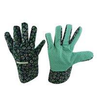 garden gloves - 6010 Garden gloves PVC dots on palm
