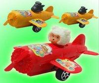 Wholesale Mini plastics toy plane radiation and wolf mini kids toys baby toys children toys mixed batch