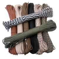 Wholesale Hot Sale Paracord Parachute Rope Core Strand FT paracord For Climbing Camping Buckles Bracelet Colors For Pick