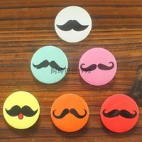 animation tools - All kinds of cartoon shape round metal tin beard badge button badge decorative Brooch cartoon animation