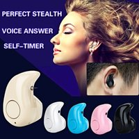 car hands free microphone - Noise Cancelling Wireless Stereo Bluetooth Mini Earphone Car Hands free Headset With Microphone