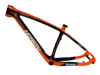 Wholesale MB202 er carbon fiber mountain frame quot quot quot red yellow green orange glossy matt color painted mtb frame