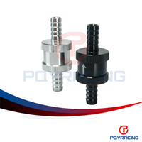 Wholesale PQY STORE quot mm Non Return One Way Fuel Check Valve Aluminium Alloy Petrol Diesel PQY FCV08