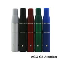 Cheap In Stock AGO G5 Electronic Cigarette G5 Atomizer Clearomizer Dry Herb Vaporizer for AGO G5 Pen E-Cigarette cig