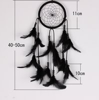 Wholesale Handmade Circular Net Dream Catcher With feathers Wall Hanging Decoration Decor Ornament Beautiful Dream Catcher