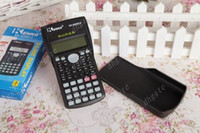 Wholesale Office School Suppliers Calculators MS multi function scientific function calculator with Retail packaging