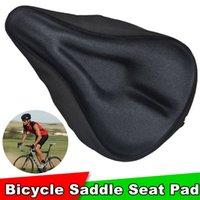 Wholesale Bicycle Seat Thicken Bike Saddle Seat Pad Cycling Saddle MTB Cushion Sponge Soft Cycling Saddle