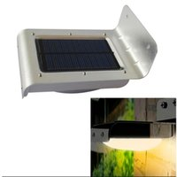 Cheap 16 LEDs Sound Sensor   Body Motion Sensor Solar Power Light Outdoor Wall Lamps Sensor Light Waterproof Garden Courtyard Lamp Solar Light