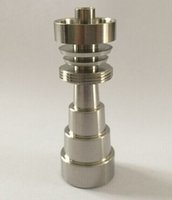 Wholesale Domeless GR2 Titanium Nail Grade Titanium Nail Joints mm mm and mm Glass Bong Water pipe Smoking Pipes