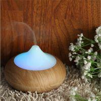 air freshener wood - Aroma Diffuser Ultrasonic Humidifier Fragrances Air Freshener Purifier Ionizer Generator Wood Grain