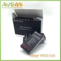 Kanger VOCC Coil VOCC remplacement bobine double pour Aerotank Mega Aerotan Mini Protank 3 gros Evod 2 Verre T3D Atomzer