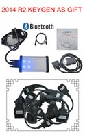 Cheap truck cables match for TCS scanner cdp pro 2014 r2 keygen as GIFT with newest function bluetooth+LED from best seller