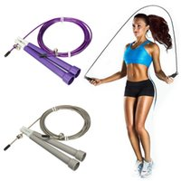 Wholesale Brand New Low Price Multi Color Adjustable Steel Wire Jumping Rope For Fitness Health Exercise Sports