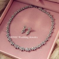 jewelry made in china - Jewelry Sets Fashion Crystal Necklace Earrings Bridal Wedding Party Jewelry Sets Made In China