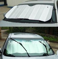 Wholesale Aluminum foil sunshade Car front sunshad