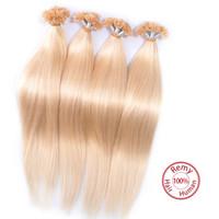 Cheap V-Tip Hair Extensions Best Brazilian Virgin Hair
