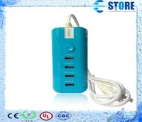Wholesale The new usb wall mobile phone travel charger V A Power AC Adapter EU US UK Plug For ipad iphone samsung galaxy s3 s4 s5 J