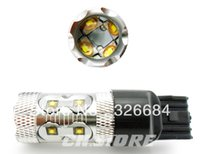 amber chip - Roadway Safety Traffic Light Promotion WHITE Amber Yellow Red WHITE CREE chips T20 W High Power LED Car Parking