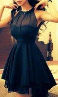 Cheap Model Pictures 2015 Cocktail Dresses Best V-Neck Ployester Short Bridesmaid Dresses