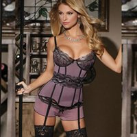 Wholesale w1025 R70008 Best selling ohyeah brand sexy dessous appliques with garter sexy lingerie women popular trendy fashion style babydoll