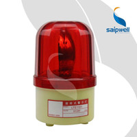 Precio de El tráfico dc-IP54 12/24/110/220 / 380V AC / DC faro giratorio roja giratoria flash de tráfico de luz indicadora / tornillo de alarma de emergencia industrial fija