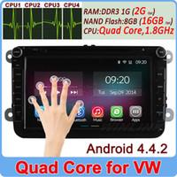 Wholesale Core Android Car DVD Player For VW Golf V Passat B6 Magotan Sagitar Jetta X8 GPS Navi Radio