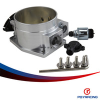 Wholesale PQY RACING mm throttle body TPS IAC Throttle Position Sensor for LSX LS LS1 LS2 LS7 SILVER