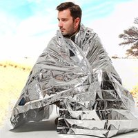 Wholesale 1pcs Waterproof Emergency Survival Foil Thermal First Aid Rescue Blanket