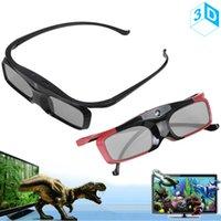 3d active shutter glasses - SG16 DLP Bluetooth RF Radio Frequency D Active Shutter Glasses for DLP Link D Projector D Playback Device LIF_A07
