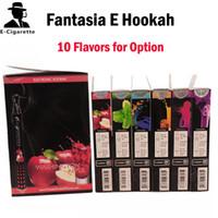Cheap Brand New Original Fantasia E hookah ecig pen 800 puffs disposable hookah pen shisha hookah e hookah vaporizer pen flavoured cigarette 08011