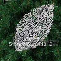banana christmas ornament - Christmas tree decoration cm grid banana leaf christmas tree garland christmas decoration