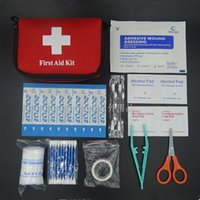 Wholesale New Emergency Kit Family First Aid Kit Outdoor Travel Kit Small Car First Aid Kit bag Home Medical bag