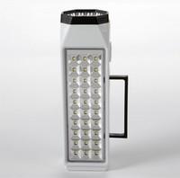 Wholesale 38 LED Rechargeable Emergency Light Lamp High Capacity LED Flashlight Mini LED Rechargeable Emergency Light Lamp