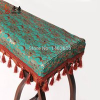 audio dust covers - Tang Zheng cover high end audio Dust thickened green complex Gulei Si hollow red brocade embroidery green foam