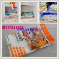 Wholesale 2015 New Storage Bags Vacuum Compression Storage Bags Home Storage Bags Four Size Good Quality