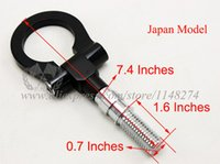 Wholesale JDM Universal Tow Hook Japan Model Black have stock and ready to ship
