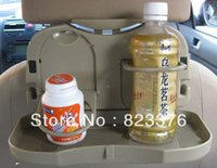 Wholesale DHL Car Seat Multi Tray mount Food table meal Desk Stand Drink Cup Holder mon