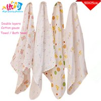 Wholesale Baby Towel Saliva Towels Baby Bath Towel Kids Blanket Cotton Baby Care Product