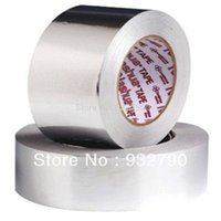 Wholesale 2pcs Strong Reliable Aluminium Foil Tape mm m Roll Ideal For Heat Reflection order lt no track