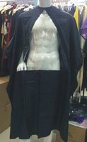Wholesale 2016 New Black Hair Cape With PVC Clear Window Nylon Fabric High Quality Color Mixed Order Salon Tools Manufacturer Direct Selling