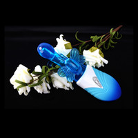Wholesale Butterfly Flying Vibrator Sex Silicone Products for couples animal girls Masturbation machine color blue purple