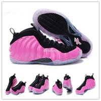 Wholesale Pink Penny Hardaway Basketball Shoes foam posite one Galaxy Athletic Shoes size us us