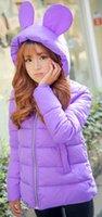 Wholesale zipper down and parkas jackets women