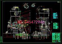 Wholesale HRM1300 vertical mill drawings Full Machining drawings