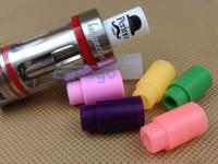 Wholesale E cigarette Wide bore drip tips Subtank drip tip silicone luminous drip tip mouthpiece for subtank mini nano subtank plus Aspire Atlantis