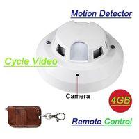 smoke detector camera - Home Smoke Detector GB Hidden Camera with Remote Control Operate