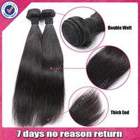 Peruvian Hair natural color diamond - Diamond Quality Unprocessed Peruvian Virgin Straight Hair AAAAAA Natural Color with soft closure