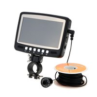 Wholesale 2016 Portable Fish Finder quot Digital Color LCD Monitor LED TVL HD Underwater Fishing Camera M Cable Fishing Finder